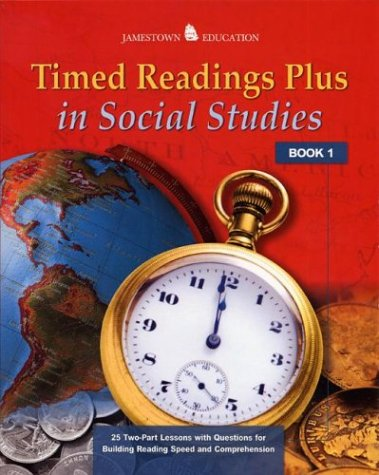 Timed Readings Plus in Social Studies: Book 2 - McGraw-Hill - Jamestown Education; Glencoe/ McGraw-Hill - Jamestown Education
