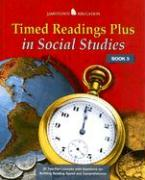 Timed Readings Plus in Social Studies Book 5