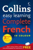 Collins Easy Learning Complete French