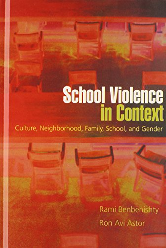 School Violence in Context: Culture, Neighborhood, Family, School, and Gender - Rami Benbenishty; Ron Avi Astor