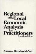 Regional and Local Economic Analysis for Practitioners: Fourth Edition