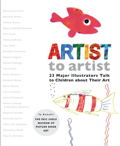 Artist to Artist: 23 Major Illustrators Talk to Children About Their Art - Eric Carle Museum of Picture Book Art, Mitsumasa Anno