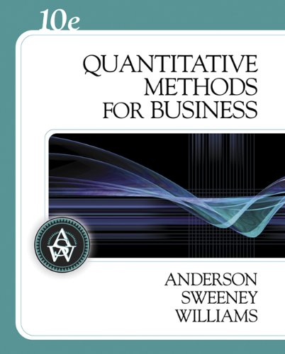 Quantitative Methods for Business (with Crystal Ball Pro 2000 v7.1, CD-ROM, and InfoTrac) (Available Titles CengageNOW) - David R. Anderson; Dennis J. Sweeney; Thomas A. Williams