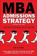 MBA Admissions Strategy