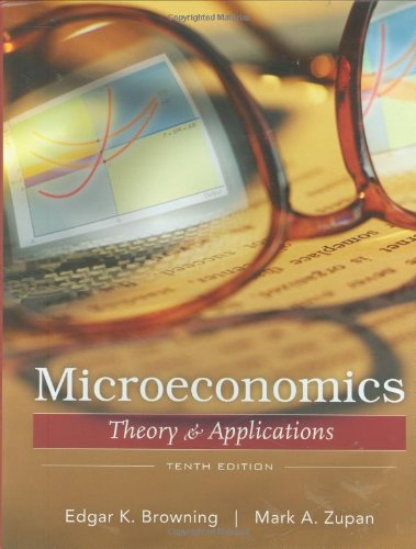 Microeconomics: Theory and Applications - Edgar K. Browning, Mark A. Zupan