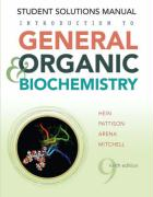 Introduction to General, Organic, and Biochemistry, Student Solutions Manual