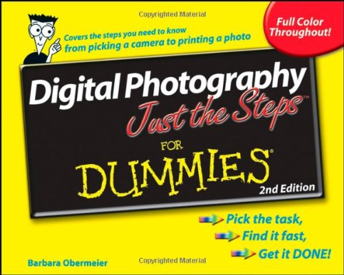 Digital Photography Just the Steps For Dummies - Barbara Obermeier