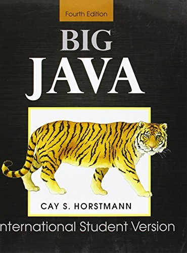 Big Java: for Java 7 and 8 - Cay S. Horstmann