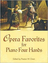 Opera Favorites for Piano Four Hands