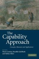The Capability Approach: Concepts, Measures and Applications