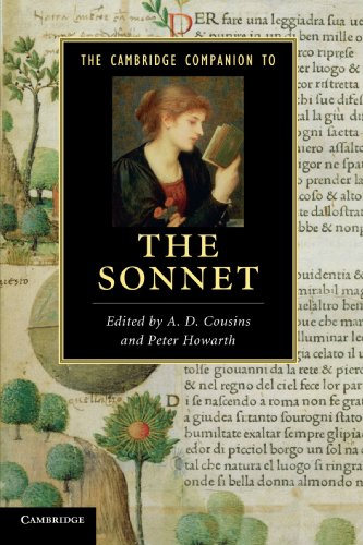 The Cambridge Companion to the Sonnet (Cambridge Companions to Literature) - A. D. Cousins; Peter Howarth