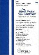 Pocket New Testament with Psalms and Proverbs-KJV