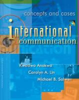 International Communication: Concepts and Cases (with Infotrac) [With Infotrac]