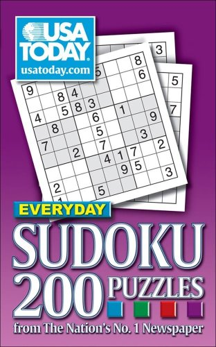 USA TODAY Everyday Sudoku: 200 Puzzles from The Nation's No. 1 Newspaper - USA TODAY