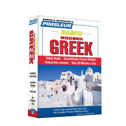 Greek (Modern), Basic: Learn to Speak and Understand Modern Greek with Pimsleur Language Programs - Pimsleur