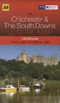 Leisure Map Chichester & South Downs