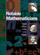 Notable Mathematicians: From Ancient Times to Present 1 Rp