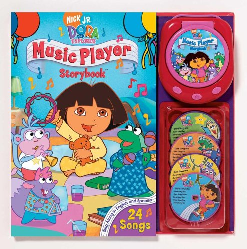 Nick JR. Dora the Explorer Music Player and Storybook (Dora the Explorer (Reader's Digest)) - Christine Ricci