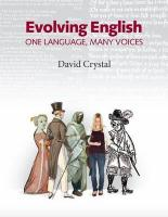 Evolving English: One Language, Many Voices: An Illustrated History of the English Language