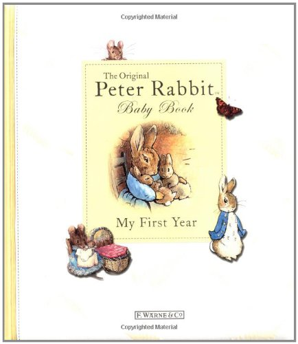 My First Year: Peter Rabbit Baby Book - Beatrix Potter