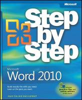 Microsoft Word 2010 Step by Step