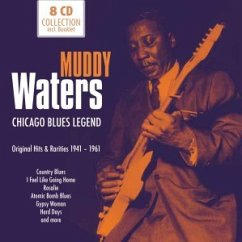 Chicago Blues Legend, 8 Audio-CDs - Waters, Muddy
