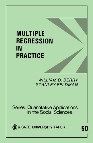 Multiple Regression in Practice (Quantitative Applications in the Social Sciences) - William D. Berry; Stanley Feldman
