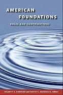 American Foundations: Roles and Contributions