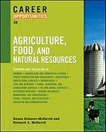 Career Opportunities in Agriculture, Food, and Natural Resources