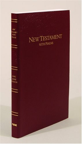 Large Print New Testament with Psalms: King James Version - Henry T. Blackaby