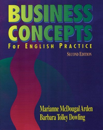 Business Concepts for English Practice - Marianne McDougal Arden; Barbara Tolley Dowling