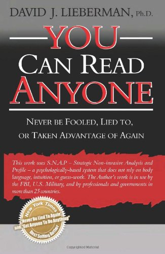 You Can Read Anyone - David J. Lieberman