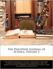 The Philippine Journal of Science, Volume 2