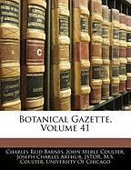 Botanical Gazette, Volume 41