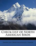 Check-List of North American Birds