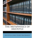 The Metaphysics of Aristotle
