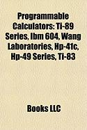 Programmable Calculators: Wang Laboratories