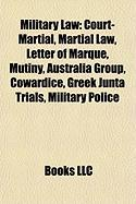 Military Law: Greek Junta Trials