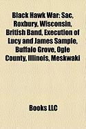 Black Hawk War: Sac, Roxbury, Wisconsin, British Band, Execution of Lucy and James Sample, Buffalo Grove, Ogle County, Illinois, Meskw