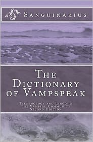 The Dictionary of Vampspeak, Second Edition