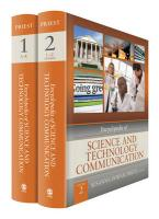 Encyclopedia of Science and Technology Communication 2 Volume Set [With Hardcover Book(s)]