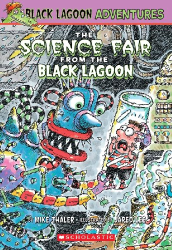 The Science Fair From The Black Lagoon (Turtleback School  &  Library Binding Edition) (Black Lagoon Adventures (Pb)) - Mike Thaler