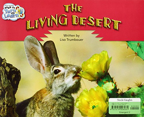 Steck-Vaughn Pair-It Turn and Learn Emergent 2: Individual Student Edition The Living Desert/The Perfect Place - STECK-VAUGHN