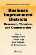 Business Improvement Districts: Research, Theories, and Controversies