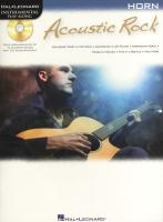 Acoustic Rock: Instrumental Play-Along for Horn