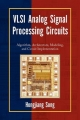 VLSI Analog Signal Processing Circuits