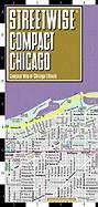 Streetwise Compact Chicago Map: 20% Smaller Than Our Regular Chicago Map