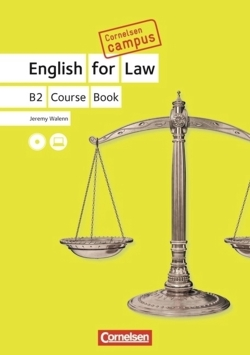 Cornelsen Campus - Englisch - English for Law: B2 - Course Book with CDs