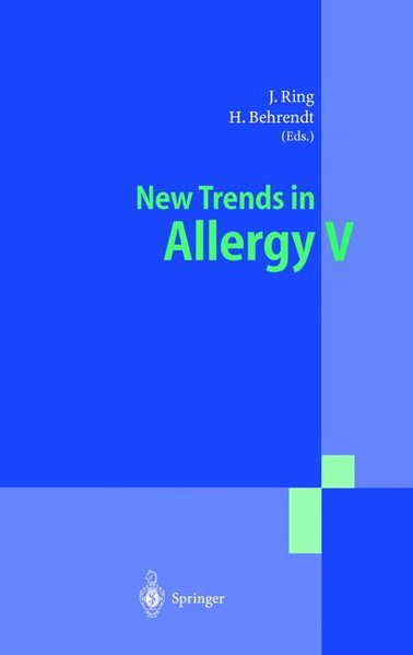 New Trends in Allergy V. - Waring, George O
