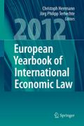 European Yearbook of International Economic Law (EYIEL), Vol. 3 (2012)